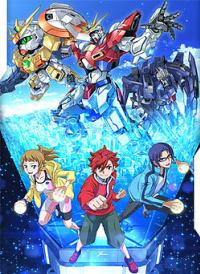 Gundam Build Fighters Try กันดั้มบิลด์ไฟท์เตอร์ไทร์ Vol.1-9 พากย์ไทย
