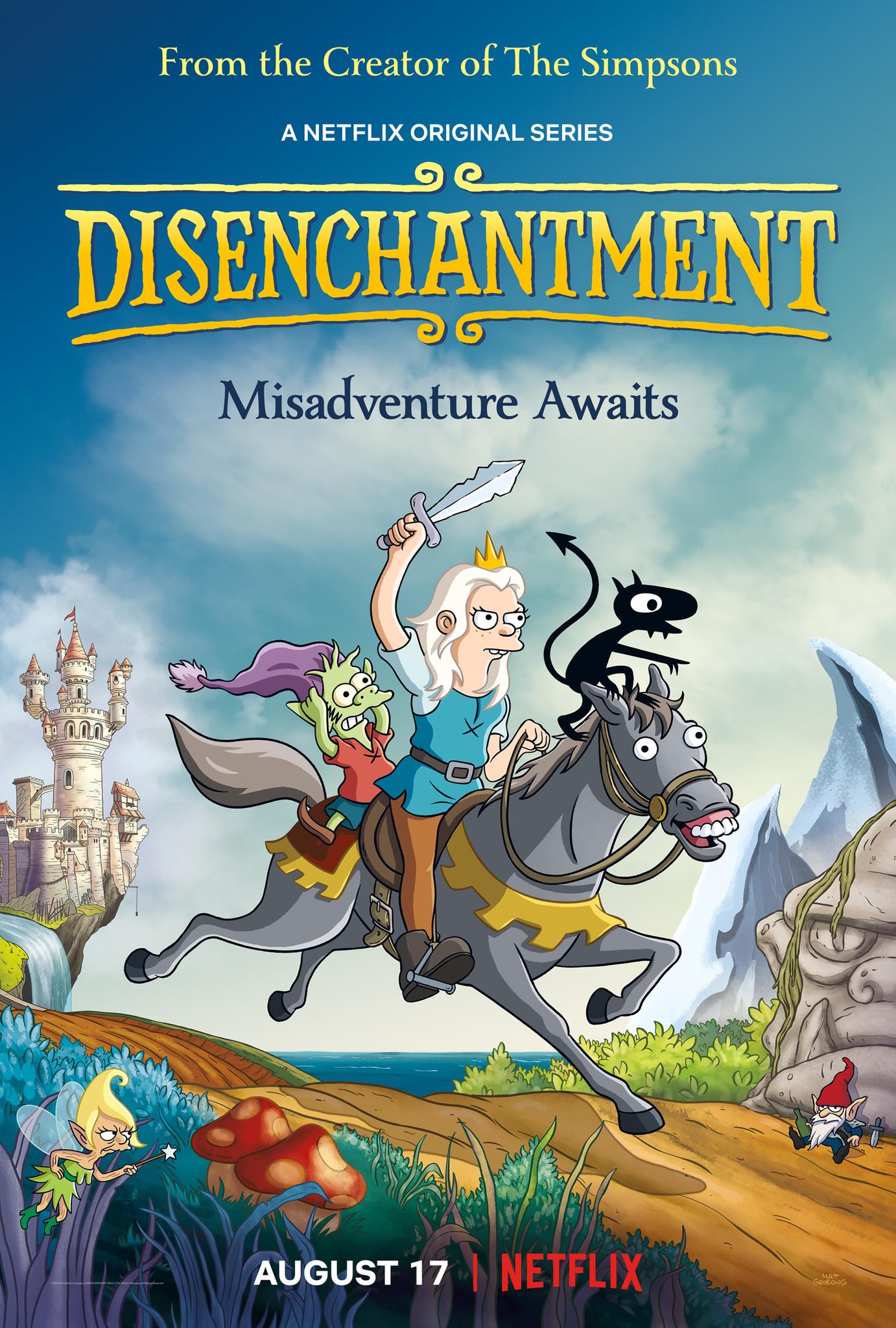 [Netflix] Disenchantment ดิสเอนแชนท์เมนต์ เอลฟ์แสบกับเจ้าหญิงสำมะเล ภาค1 ตอนที่ 1-10 ซับไทย