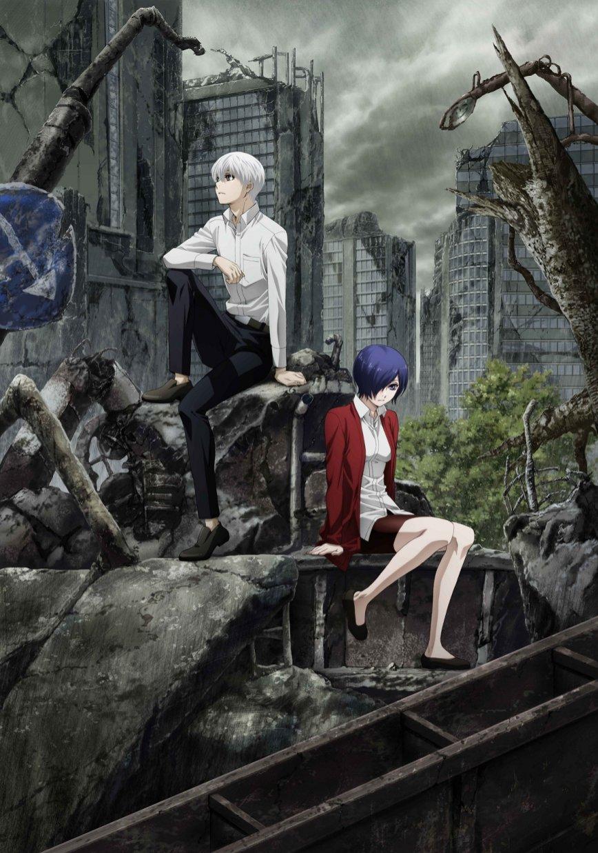 Tokyo Ghoul:re Season 2 โตเกียวกูล รี ภาค 2 (ภาค4) ตอนที่ 1-12 ซับไทย